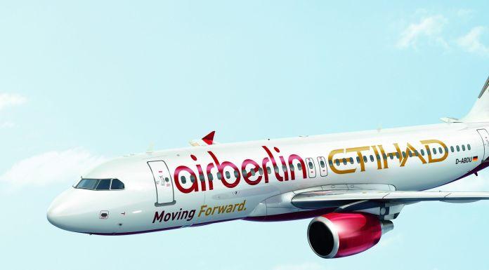 Flugzeug Etihad / Air Berlin