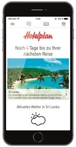 Hotelplan App Smartphone