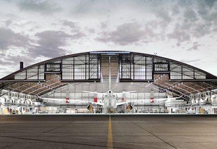 SR Technics, Hangar