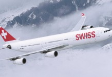Swiss Airbus A340