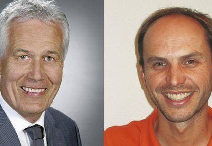 Rolf Helbling und Michael Mettler