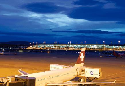 Auftakt Flughafne Zürich
