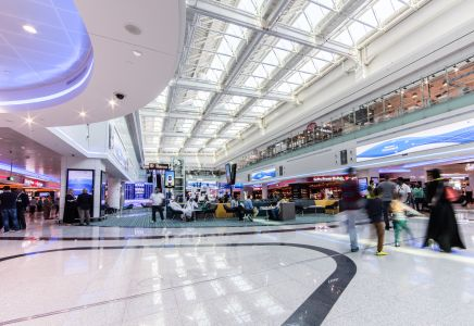 Dubai DXB Concourse D