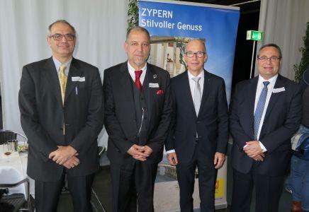 Ferienmesse St. Gallen 2016, Zypern, Georgios Papantoniou