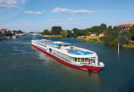 Die Bijou von Nicko Cruises in Südfrankreich.