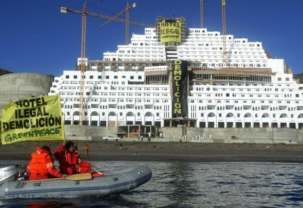 Die spanische Hotelanlage «El Algarrobico»
