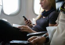 WLAN Wifi an Bord Flugzeug