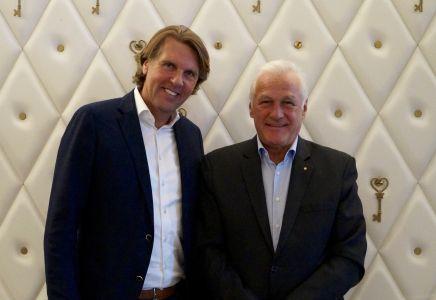 Carsten K. Rath und Werner Knechtli