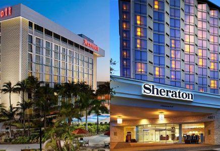 Marriott, Sheraton