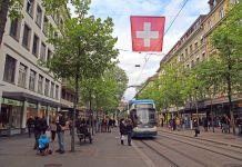 Zürich, Bahnhofstrasse, Shutterstock