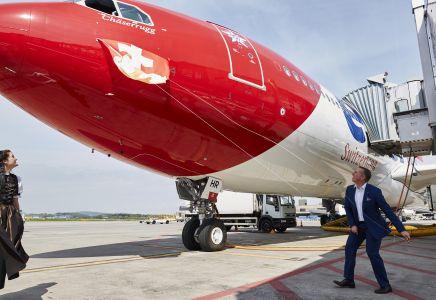 Edelweiss-Flugzeugtaufe, Bernd Bauer