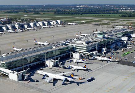 München Satellitenterminal