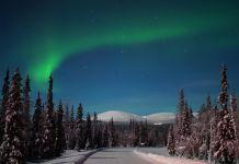 Norwegen Nordlicht