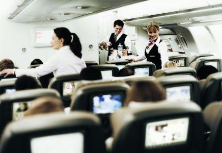Swiss A330 Economy Kabine