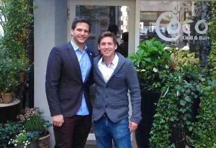 Tim Wetli und Marcel Gabriel