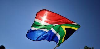 Südafrika Flagge