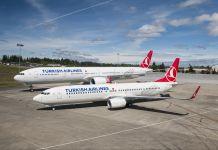 Turkish Airlines Boeing
