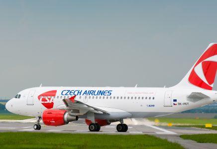 Czech Airlines A319-112
