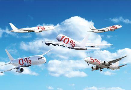 Flugzeuge Prozent Kommissionen