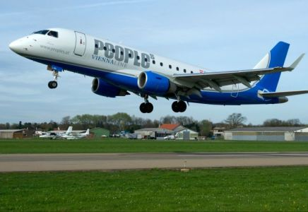 People's Viennaline Embraer 170