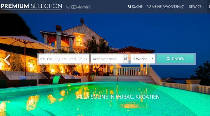 Premium Selection Homepage