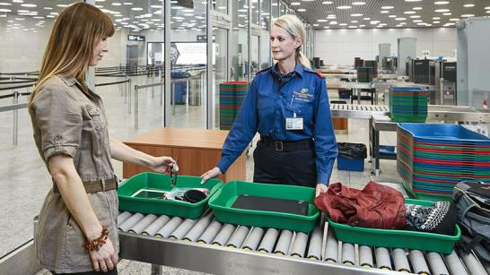 Security Flughafen Zürich