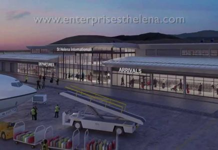 Flughafen St Helena