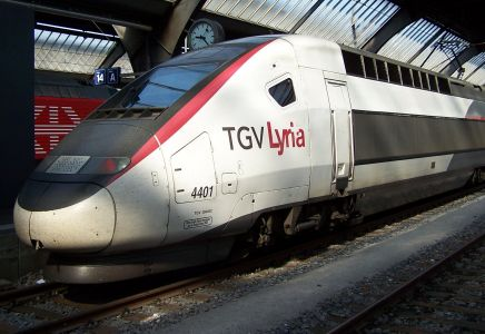 TGV Lyria Zürich