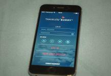 TravelerBuddy on iPhone 6
