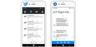 LCY Twitter Messenger London City