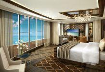 Seven Seas Explorer Regent Suite Master Bedroom