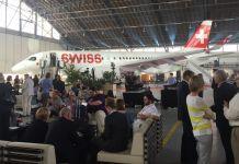 Swiss Bombardier C-Series 100 Zürich