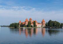 Wasserschloss Trakai Litauen