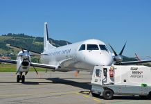 Saab 2000 IZB @ SkyWork Airlines