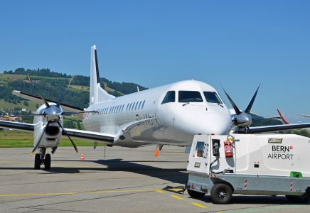 Saab 2000 IZB @ SkyWork Airlines