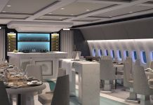 Crystal Air Cruises 777 - Lounge and Bar