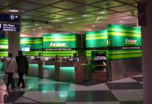 Europcar Counter