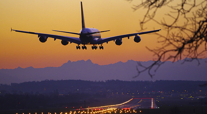 FlughafenZürich_Landung