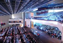 Swiss Convention Centres Plenarsaal in Genf