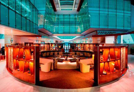New Business Class Lounge DXB Credit Emirates