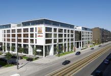 FTI GROUP, Zentrale in München, Außenansicht