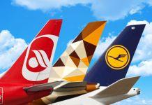 Heckflossen Etihat, Lufthansa, Air Berlin