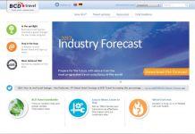 Portail web de BCD Travel Switzerland