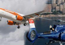Easyjet et Monacair collaborent