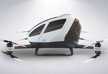 Le véhicule autonome volant Ehang 184