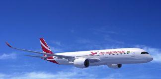 Rendering Airbus A350 Air Mauritius