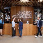 Welcome Desk der Jochen Schweizer Arena_Copyright jochen-schweizer.de