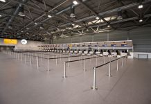 Schiphol Temporary Departure Hall