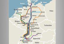 Karte Railtour