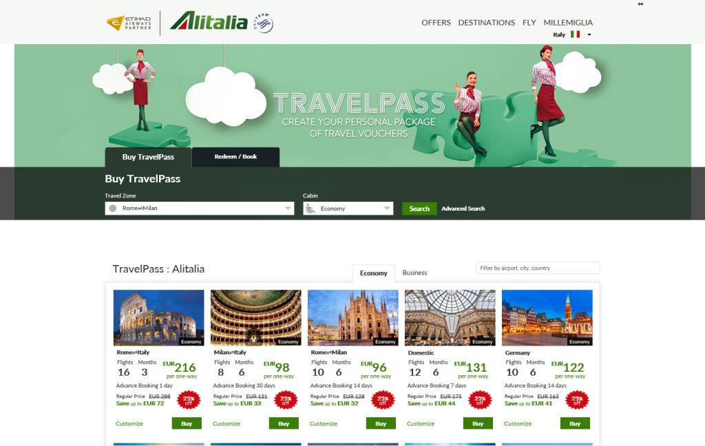 Alitalia coupon codes